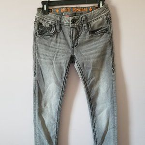 Rock Revival Skinny Jeans  25